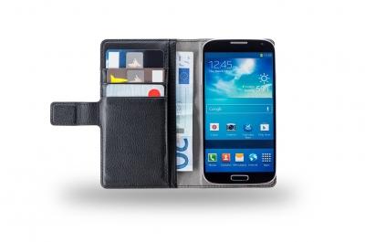 Azuri Universele wallet - zwart - medium